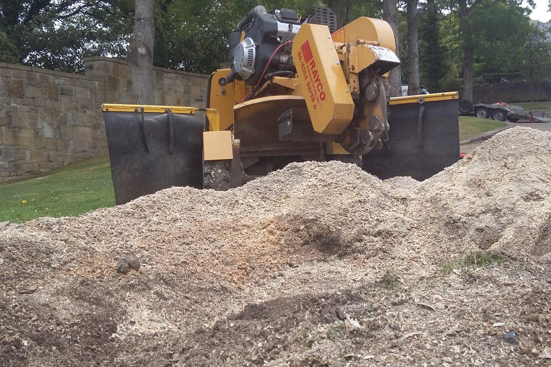 Shortridge - Large pile of Mulch